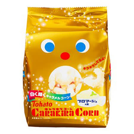 日本東鳩 玉米脆果-奶酪味77g