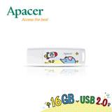 Apacer宇瞻 AH336 16GB『P714星球』聯名款隨身碟-太空夢想-加送P714星球贈品筆乙支