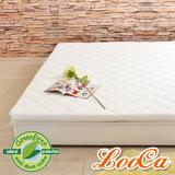 LooCa 法國滅蹣技術-單大3.5尺防蹣防蚊御眠兩用5cm乳膠床墊
