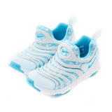 NIKE 童鞋 經典復古鞋 NIKE DYNAMO FREE PRINT (PS) 淺藍-834365401