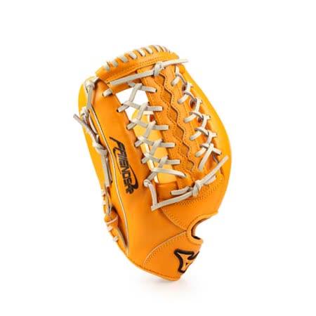 MIZUNO 壘球手套-外野手用-棒球 美津濃 橘 F