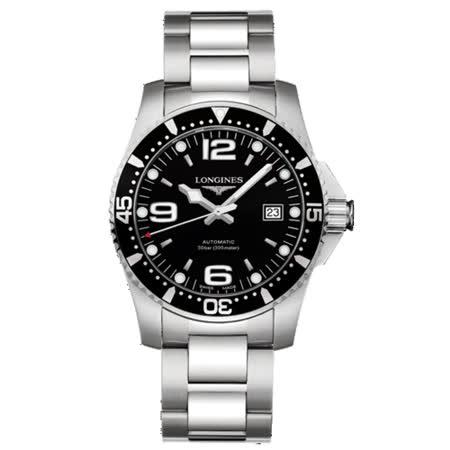 LONGINES 黑水鬼系列<br>動力儲存機械潛水錶