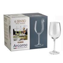 Arcoroc感觀高腳紅酒杯470cc六入組