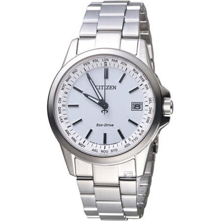 星辰 CITIZEN  GENT\'S 嶄新世界限量電波時計腕錶 CB1090-59A