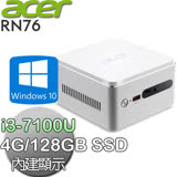 acer宏碁 Revo Cube RN76【雙核】i3-7100U 雙核心 Win10迷你電腦(RN76 i3-7100U)