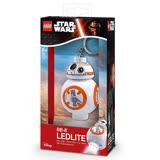 【 樂高積木 LEGO 】LED 鑰匙圈 - 星際大戰 - BB8