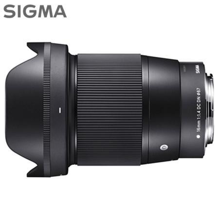 SIGMA 16mm F1.4 DC DN∣C廣角大光圈鏡頭(公司貨)