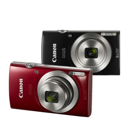 CANON IXUS 185數位相機輕巧隨身機(公司貨)贈32G記憶卡+專用電池+相機包+清潔組+讀卡機+軟管小腳架