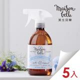 Maison Belle 美生貝樂  寶貝屋 粉藍寶寶 (牛奶/燕麥) 嬰幼兒專用清潔劑 500ml 五入組