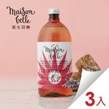 Maison Belle 美生貝樂 智多星植萃精油多功能地板濃縮清潔劑  (甜橙/薰衣草/丁香) 1000ml 三入組