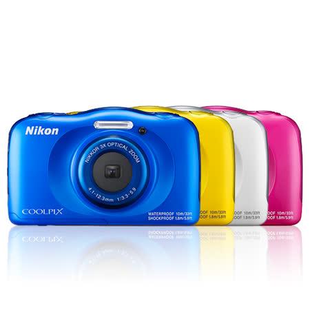 Nikon COOLPIX W100 靓樣三防相機(公司貨)-加碼送原廠電池