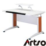 【Artso亞梭】DL全能桌-鋼琴烤漆桌面最貼心人體工學桌健康傢俱辦公桌電腦桌
