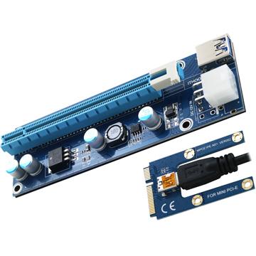 伽利略 mini PCI~E to 16X 小6pin MPEU304A