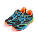 (大童) GOODYEAR 半氣墊運動鞋 藍黑 GAKR78256 童鞋 鞋全家福