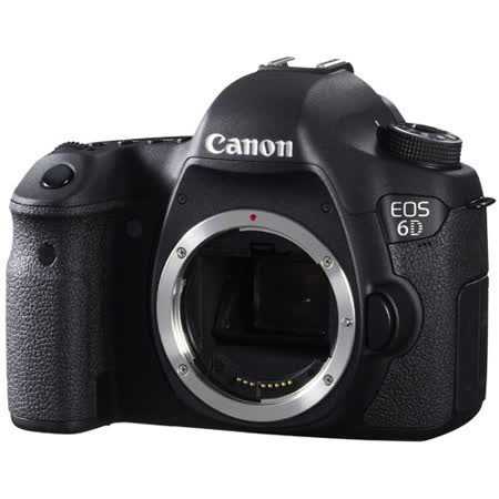 CANON EOS 6D BODY 單機身(公司貨)贈64G記憶卡+專用電池X2+單眼相機包+吹球清潔組