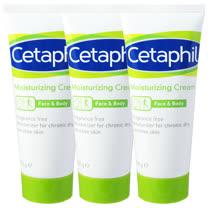 Cetaphil舒特膚 長效潤膚霜100g(三入特惠)