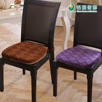 格藍傢飾-莎曼風情餐椅墊(2色可選)-一入組