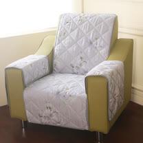 [HomeBeauty]恆溫天絲沙發保潔墊-1人座-一瓣子心