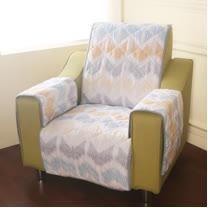 [HomeBeauty]恆溫天絲沙發保潔墊-1人座-宿本