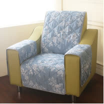 [HomeBeauty]恆溫天絲沙發保潔墊-1人座-羅曼史