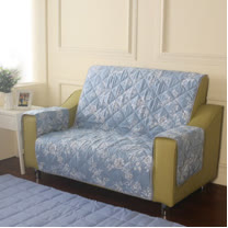 [HomeBeauty]恆溫天絲沙發保潔墊-2人座-羅曼史