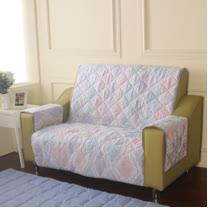 [HomeBeauty]恆溫天絲沙發保潔墊-2人座-達莉婭