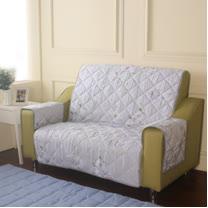 [HomeBeauty]恆溫天絲沙發保潔墊-2人座-一辦子心