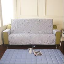 [HomeBeauty]恆溫天絲沙發保潔墊-3人座-一辦子心