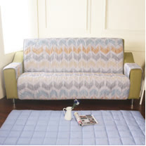 [HomeBeauty]恆溫天絲沙發保潔墊-3人座-宿本