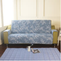 [HomeBeauty]恆溫天絲沙發保潔墊-3人座-羅曼史