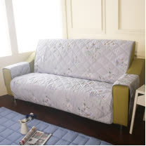 [HomeBeauty]恆溫天絲沙發保潔墊-4人座-一瓣子心