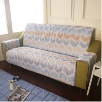 [HomeBeauty]恆溫天絲沙發保潔墊-4人座-宿本