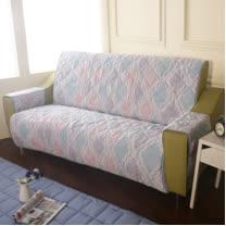 [HomeBeauty]恆溫天絲沙發保潔墊-4人座-達莉婭