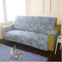 [HomeBeauty]恆溫天絲沙發保潔墊-4人座-羅曼史