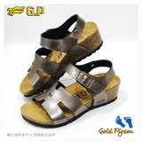 【G.P 休閒個性柏肯鞋】W785-88 金色 (SIZE:35-39 共二色)