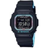 【CASIO 卡西歐】G-SHOCK  電波太陽能經典時尚腕錶-GW-M5610PC-1