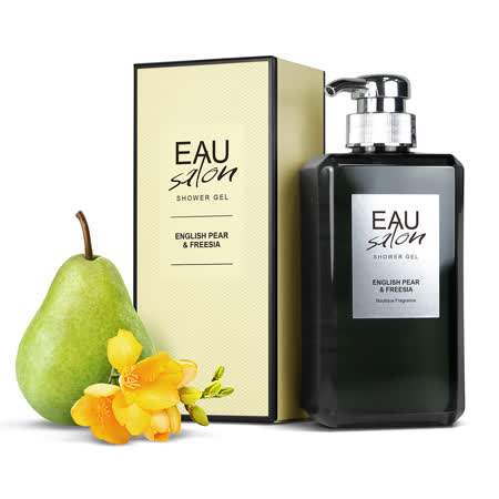 【EAU Salon】耀.沙龍 香氛沐浴乳-英國梨與小蒼蘭(500ml)