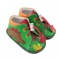 【愛的世界】LOVEWORLD 森林恐龍寶寶鞋/13-15CM-台灣製-