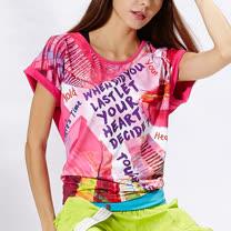 TOUCH AERO 特色印花寬版T恤 TA523