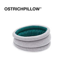 【英國Ostrich Pillow】鴕鳥枕 Light 雙色雙面圍脖款 (綠色)