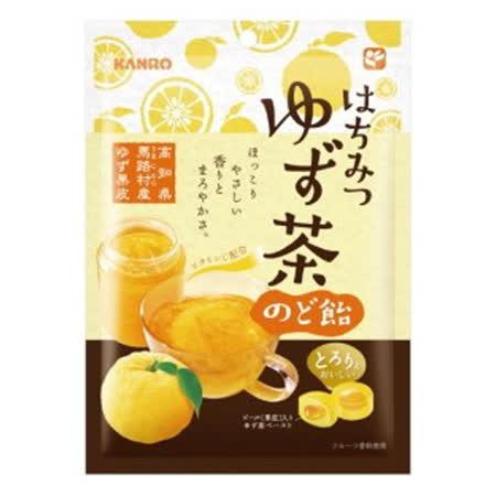 日本甘樂 柚子喉糖70g