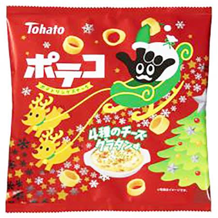 日本東鳩 4種起司圈圈餅70g