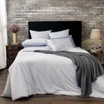 BBL 伊莉斯(寧靜灰)-精梳棉素色加大床包組