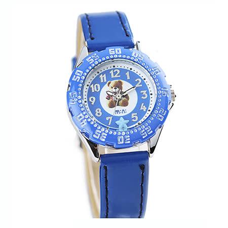 【韩国MINI 】手工软陶创意手表-可爱熊(蓝)