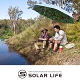 【Solar】迷彩遮陽釣魚傘