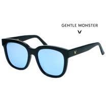 【GENTLE MONSTER 太陽眼鏡】SALT-01/11M 大框墨鏡(黑框/水銀藍鏡)