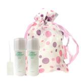ALBION 艾倫比亞 健康化妝水 27mlx2 旅行袋組加贈5顆壓縮面膜及噴頭(送完為止)