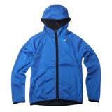 AIRWALK-太空棉連帽外套-藍