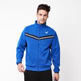 【AIRWALK】簡約時尚 V型剪接高領外套-中藍