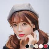 【PS Mall】 韓國英倫時尚麂皮絨八角貝雷帽 報童帽 畫家帽 帽子 (G2482)